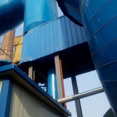 管道保温压延膜玻璃棉保温安装铁皮保温施工