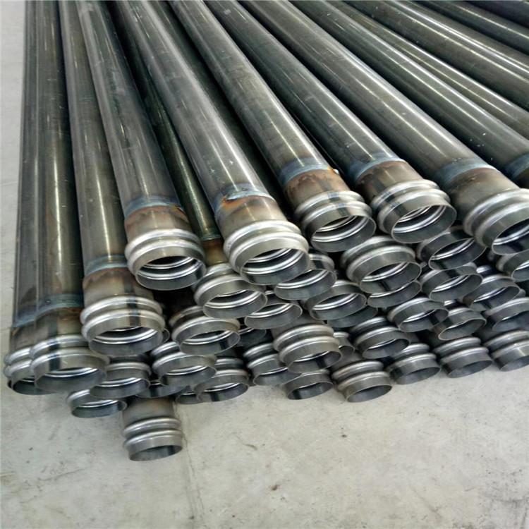 桥梁桩基超声波检测管声测管钳压套筒螺旋式现货供应