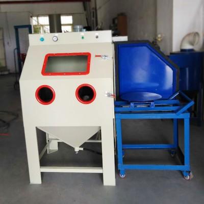 北京模具除锈美化干式喷砂机 金属提高附着力