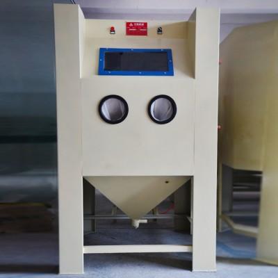 郑州汽车配件翻新自动喷砂机 金属翻新除锈喷砂机