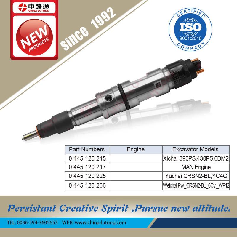 高压共轨柴油机电控喷油器0445120246