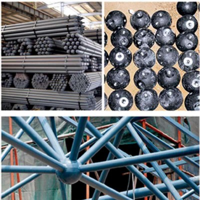 河南省漯河市网架公司-漯河市螺栓球网架公司-漯河市焊接球网架