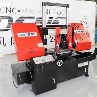 高德数控GB4235金属带锯床 大功率蜗轮减速机 性能稳定