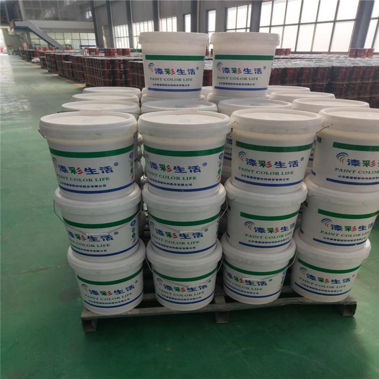 生产加盟真石漆 山东生产水性漆 真石漆的厂家