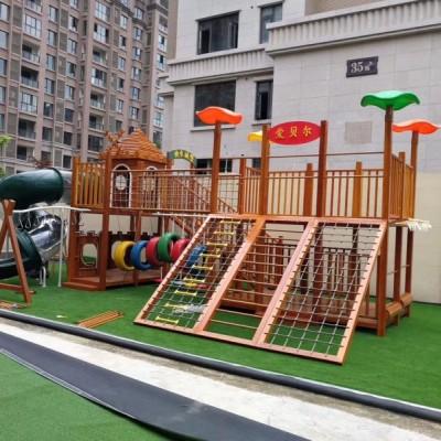 感统区玩具幼儿园儿童户外攀爬架