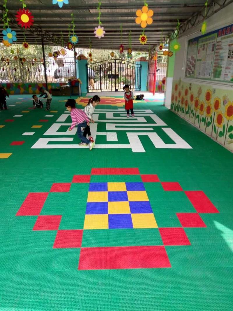 幼儿园儿童悬浮地板