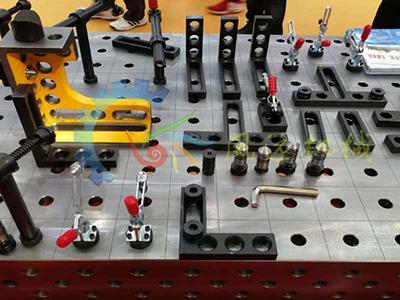 柔性工装夹具  多孔三维柔性焊接工装  机器人工装夹具