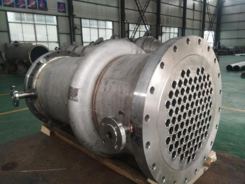 钛材换热器,钛列管式换热器宝鸡邦瑞达钛业专业