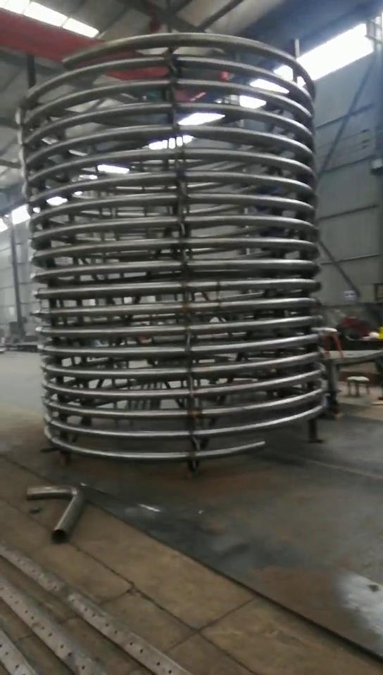 钛盘管,钛蛇形管,优质钛管,高效节能