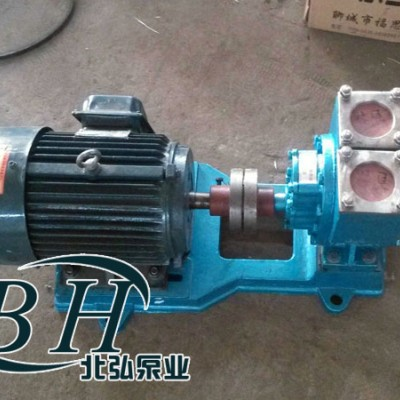 80YHCB-60圆弧齿轮油泵,车载圆弧齿轮泵