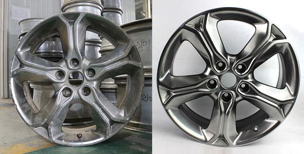 广州汽车轮毂修复_轮毂变形修复