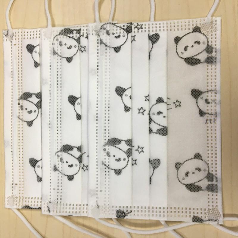 泉州厂家直销儿童口罩一次性三层印花卡通图案可定制加工