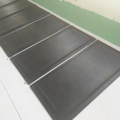 电子厂缓解疲劳脚垫,全黑抗疲劳地垫厂家
