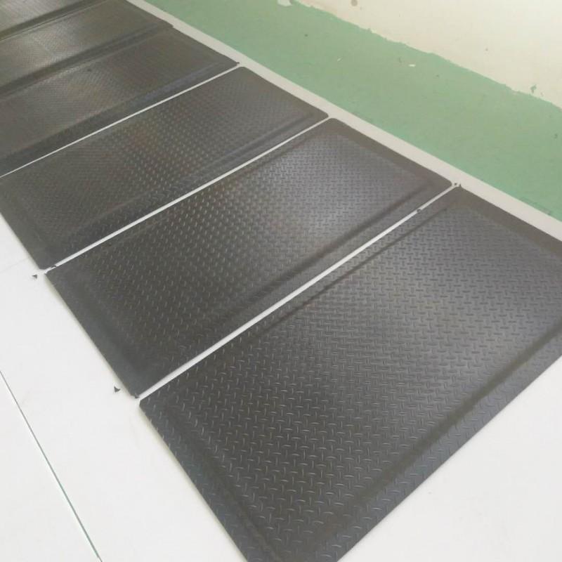 走廊用防滑垫,工厂防滑地垫,绿色防疲劳垫
