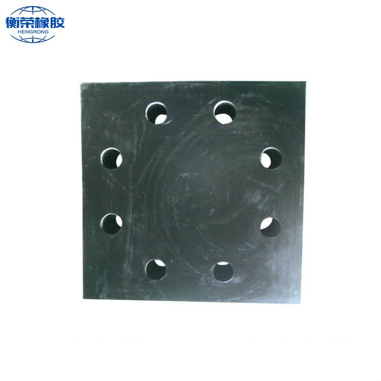 四孔减震橡胶支座-衡荣四孔减震橡胶支座特性
