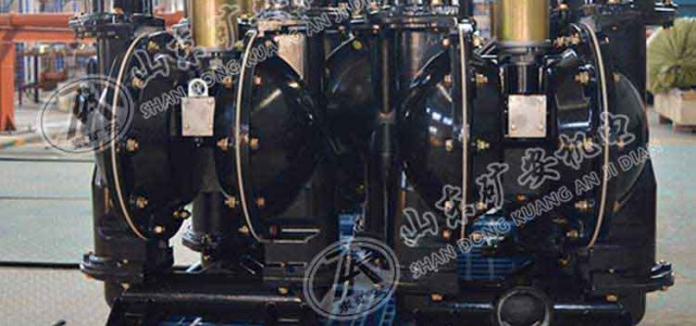 BQG系列矿用隔膜泵 BQG系列矿用隔膜泵用途