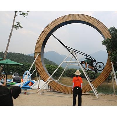 360度旋转自行车网红自行车投资
