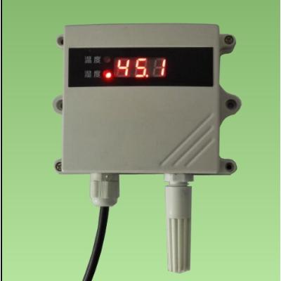 大屏高清屏显温湿度传感器-485型