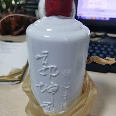 郭坤亮大师手造酒 柔雅酱香白酒53度