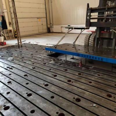 全国发货 现货带槽 铁地板 铸铁平台 包安装