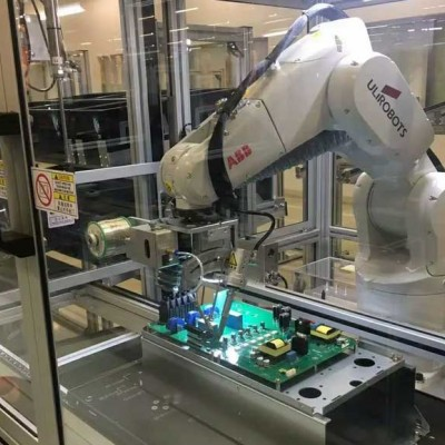 il1000m四轴悬臂式焊锡机器人全自动焊锡机
