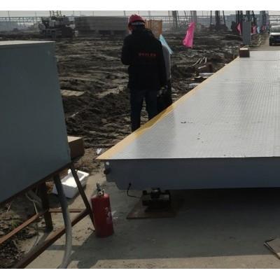 嘉兴优科3*16米100吨120吨地磅