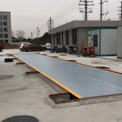 嘉兴优科3米宽80吨100吨120吨地磅汽车衡汽车衡台中衡