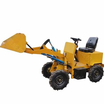 中小型装载机 多功能轮式铲车机 小型工程转载机