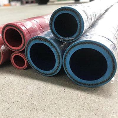 厂家生产DN55彩色无碳胶管压力10KG过冷却水用