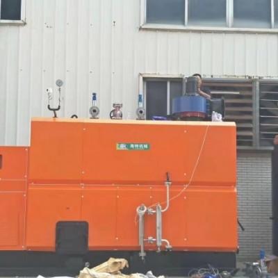 石膏装潢线条烘干--1吨生物质颗粒蒸汽发生器-蒸汽烘干