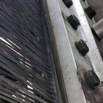提升机钢丝绳输送带     耐磨钢丝绳输送带