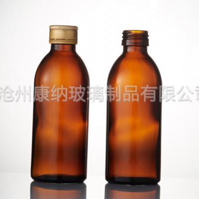 天津和平区管制透明螺口口服液瓶