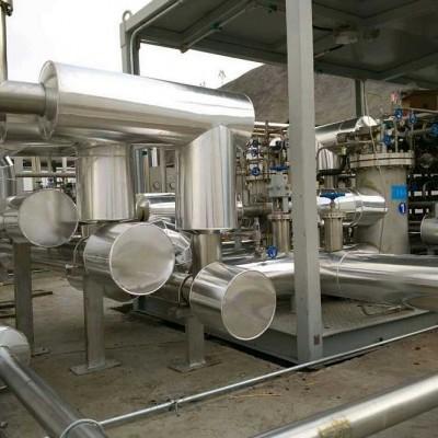 南京罐体白铁保温施工队岩棉彩钢管道保温防腐工程